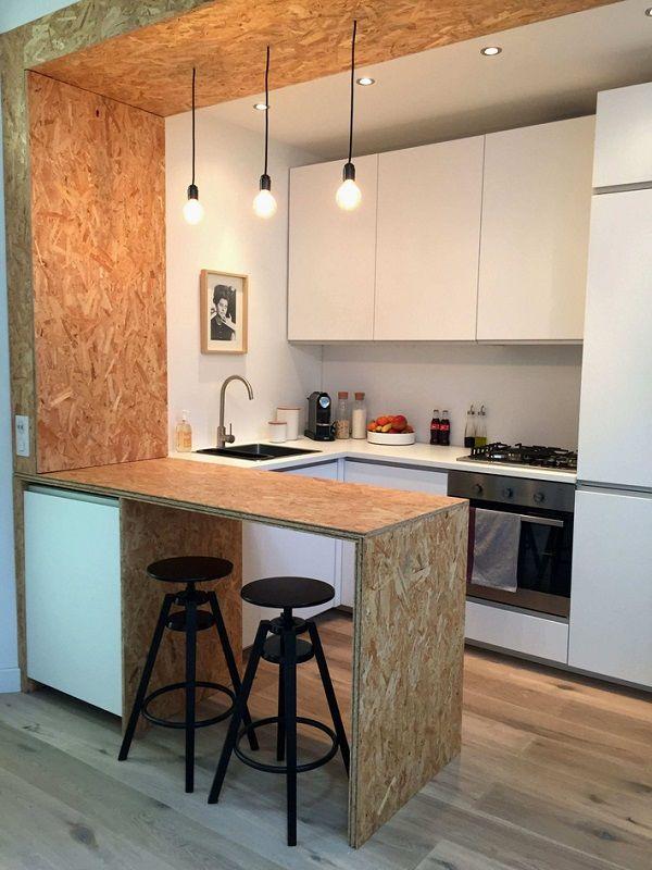 Tủ bếp thông minh cho nhà bếp chật